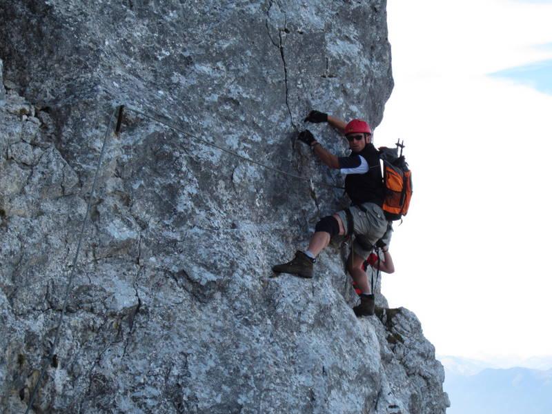 Klettersteig Wilder Kaiser : Wilder kaiser kufsteiner klettersteig img b eg david von